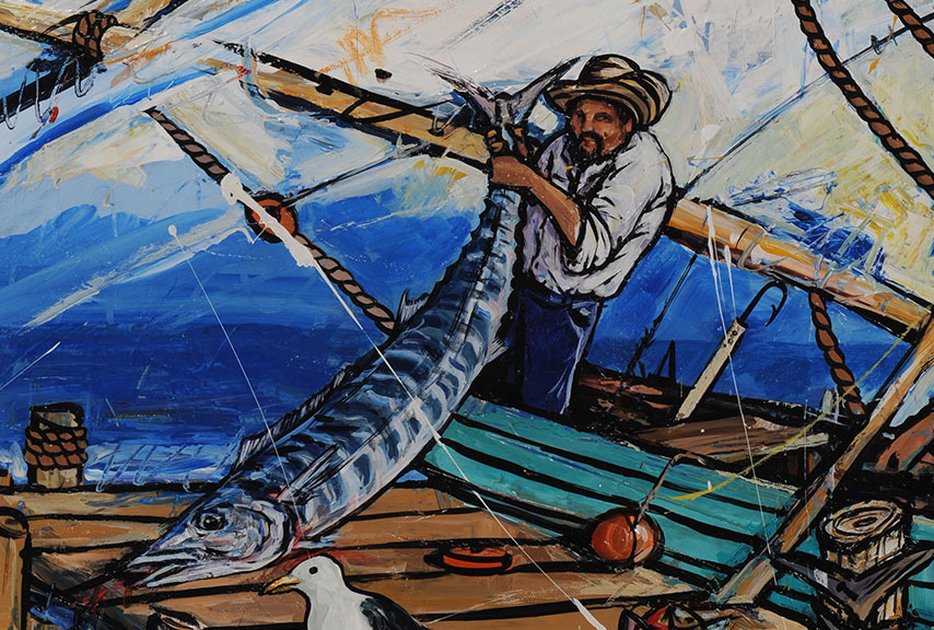 Barracuda Fisherman